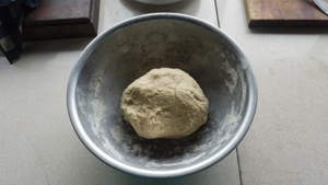 Chapati 2 Dough in Bowl